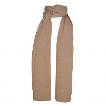 Laura halstørklæde i en klassisk beige. 100% premium cashmere fra danske Wuth Copenhagen.