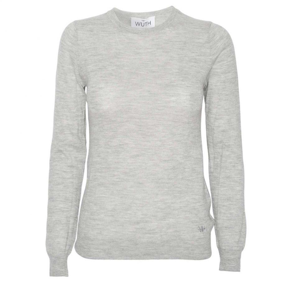 Light Klassisk Pullover er vores klassiske cashmere bluse til kvinder. Tætsiddende bluse med rund udskæring i 100% premium cashmere.