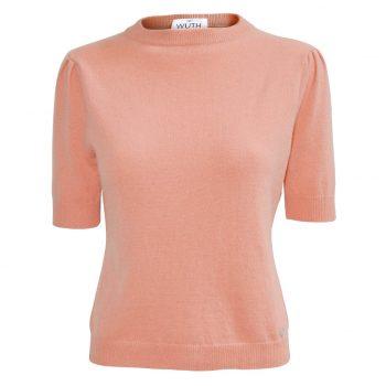Ny cashmere t-shirt i flotte forårs farver. 100% premium cashmere t-shirts til kvinder.
