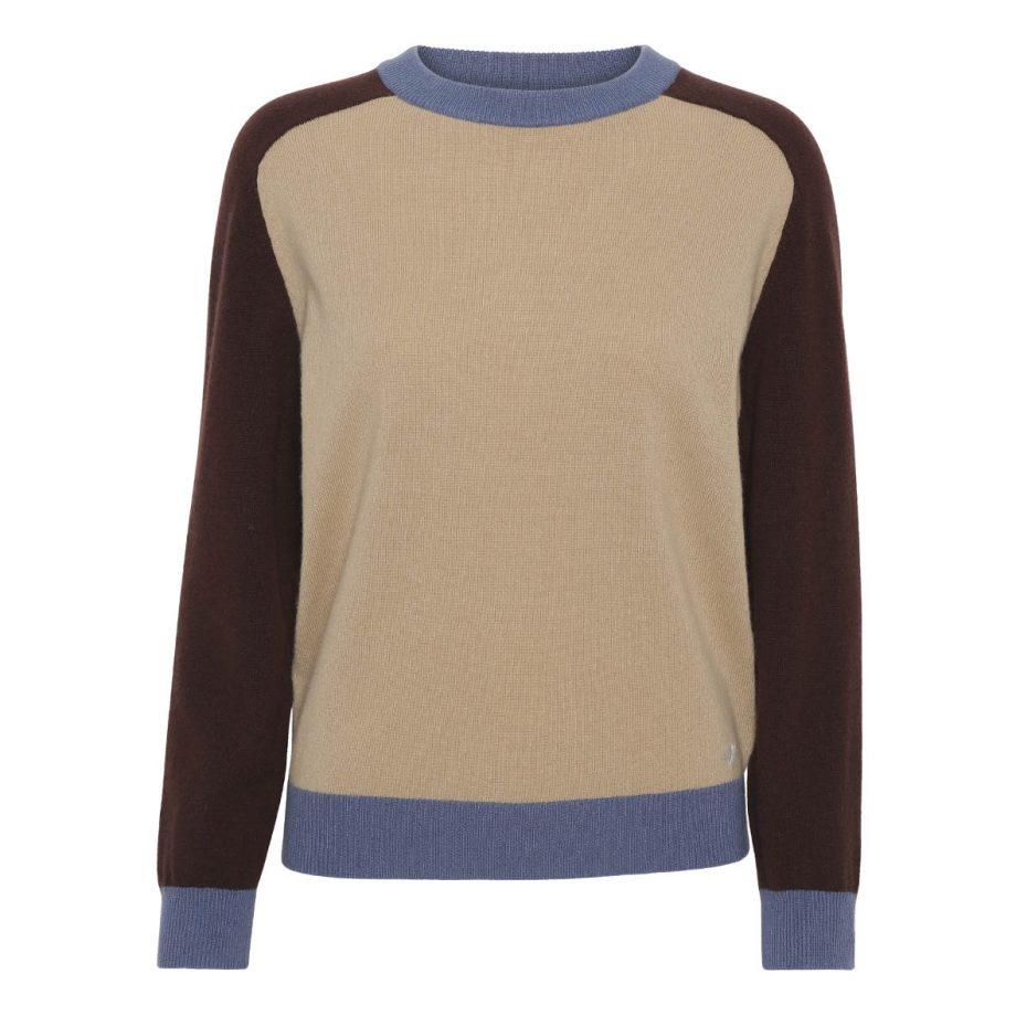 Anne line pullover I 100% premium cashmere fra vores nyeste AW21 kollektion. Wuth Copenhagen har sammensat de flotteste farver til efterår og vinter.
