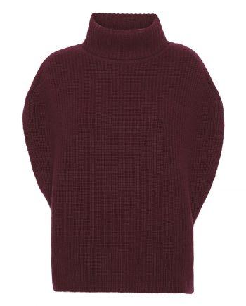 Pernille Vest - Bordeaux rød passer perfekt til den vinter sæson fra Wuth Copenhagen.