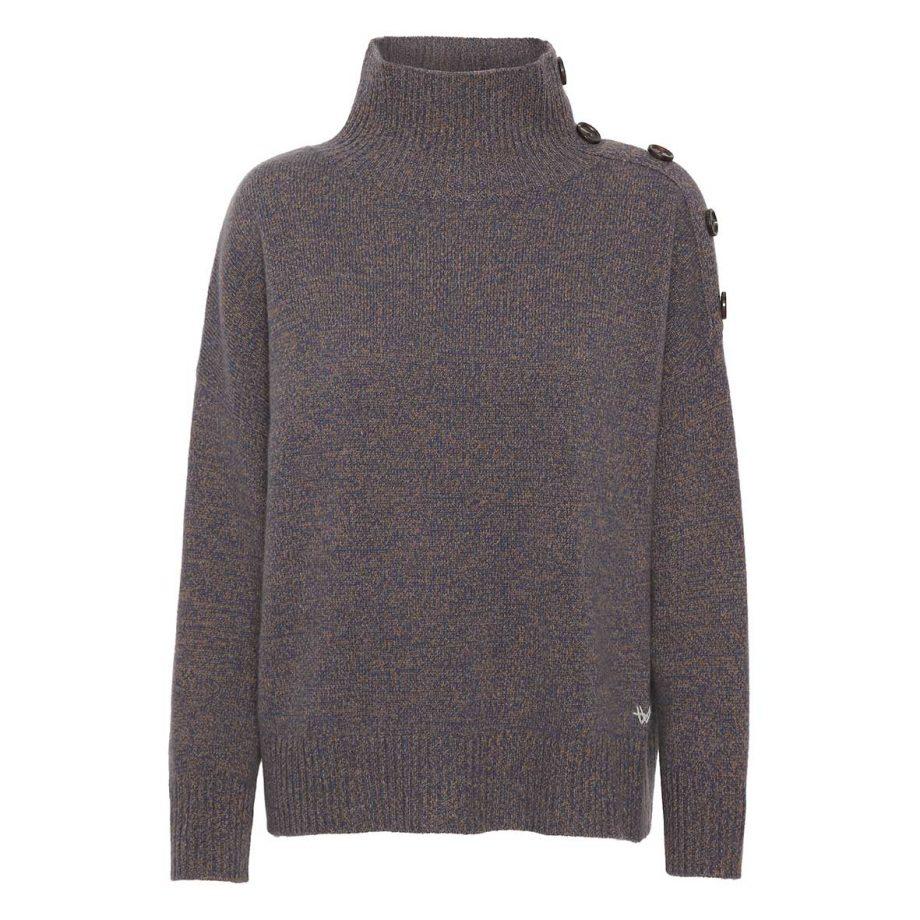Lane Pullover - Autumn/Winter 2021 fra Wuth Copenhagen. De nyeste cashmere bluser og farver denne sæson.