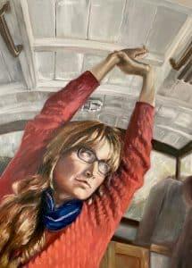 Francesca Wyllie - Self portrait