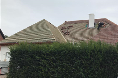 Hellend dak Bornem