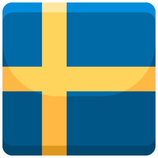 Casino måste ha svensk licens, bild på en svensk flagga.