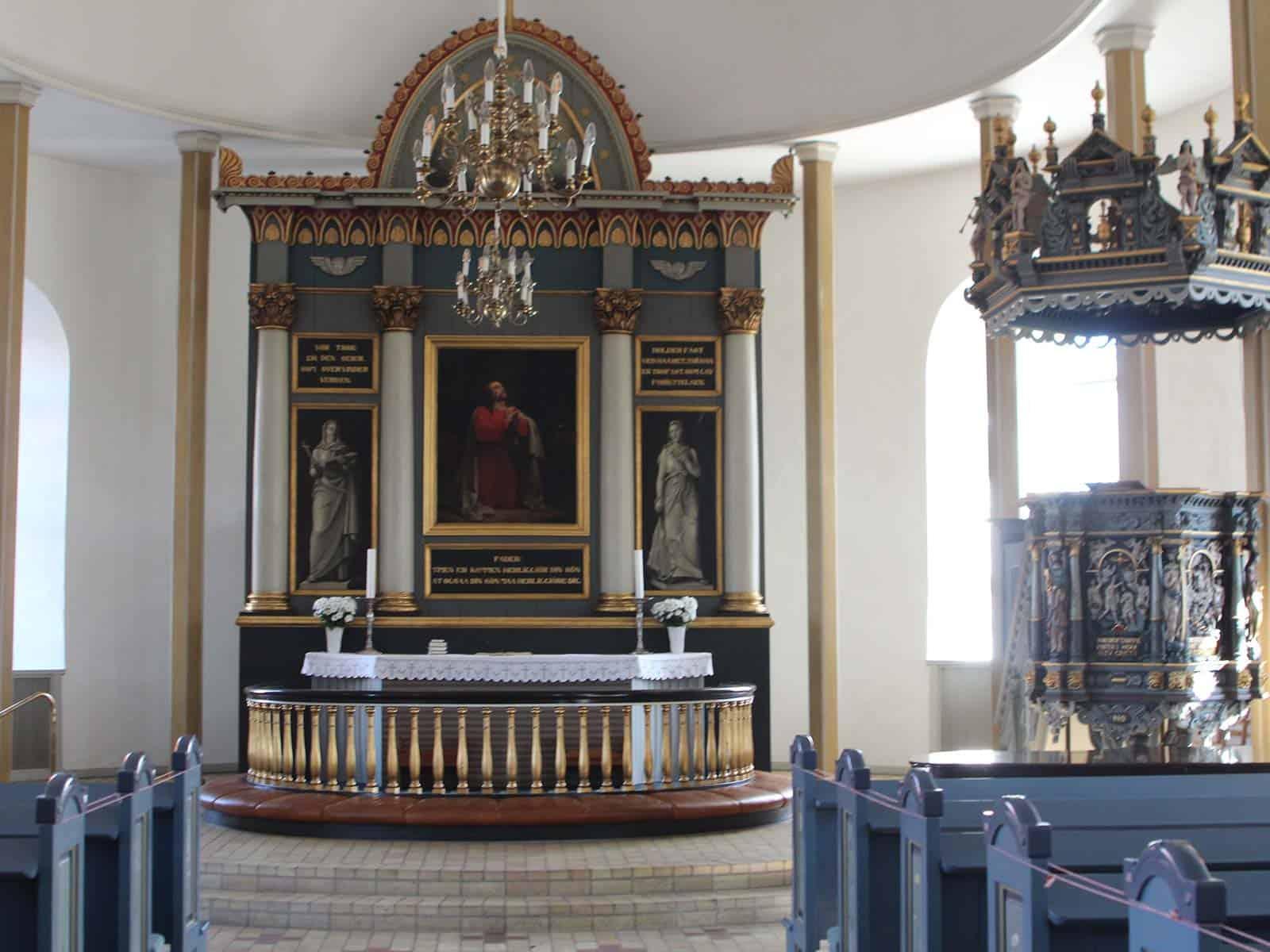 Ærøskøbing Kirke altertavle