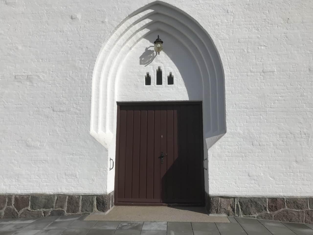 Bagenkop Kirke facade