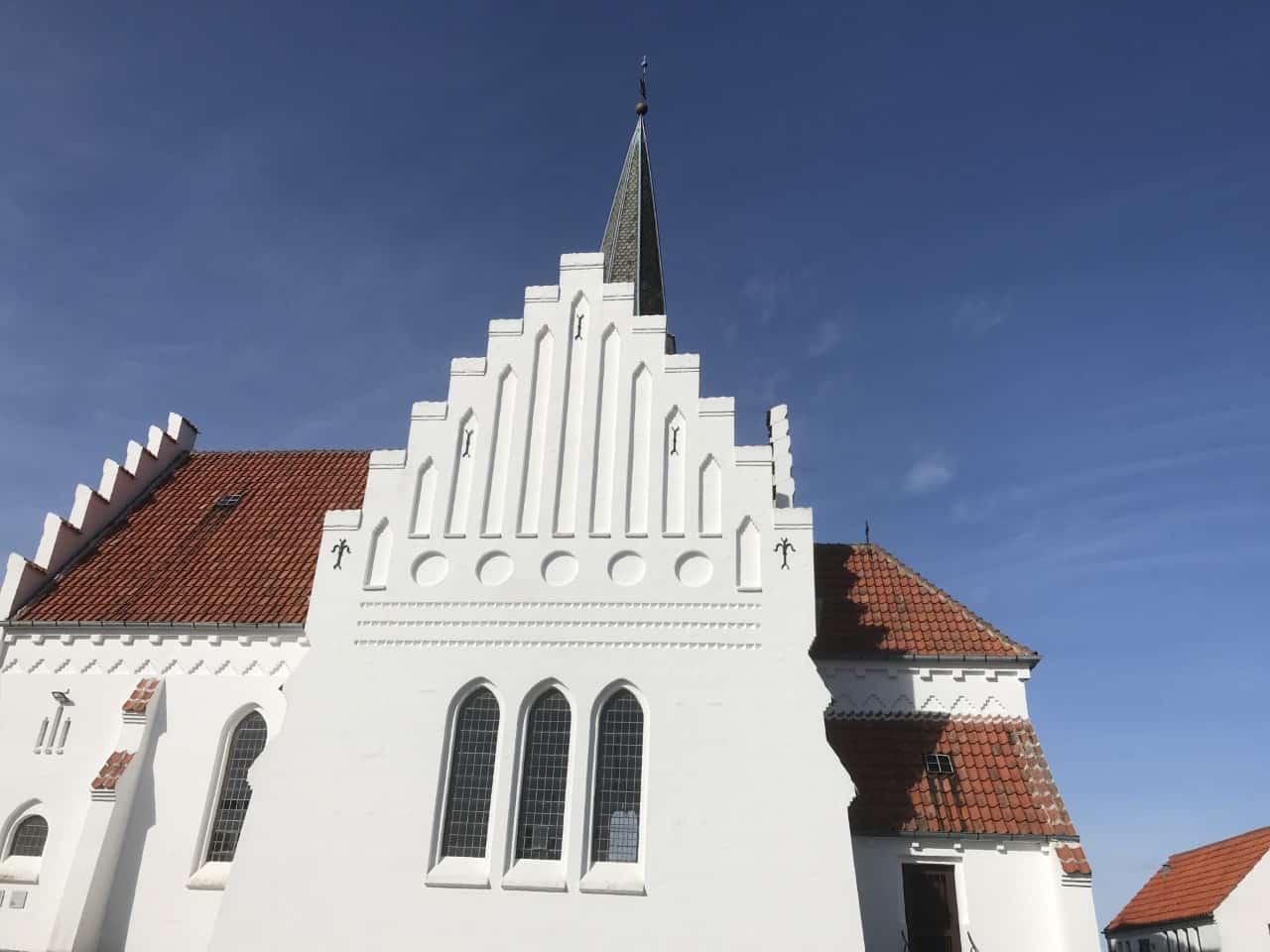 Bagenkop Kirke kirketårn