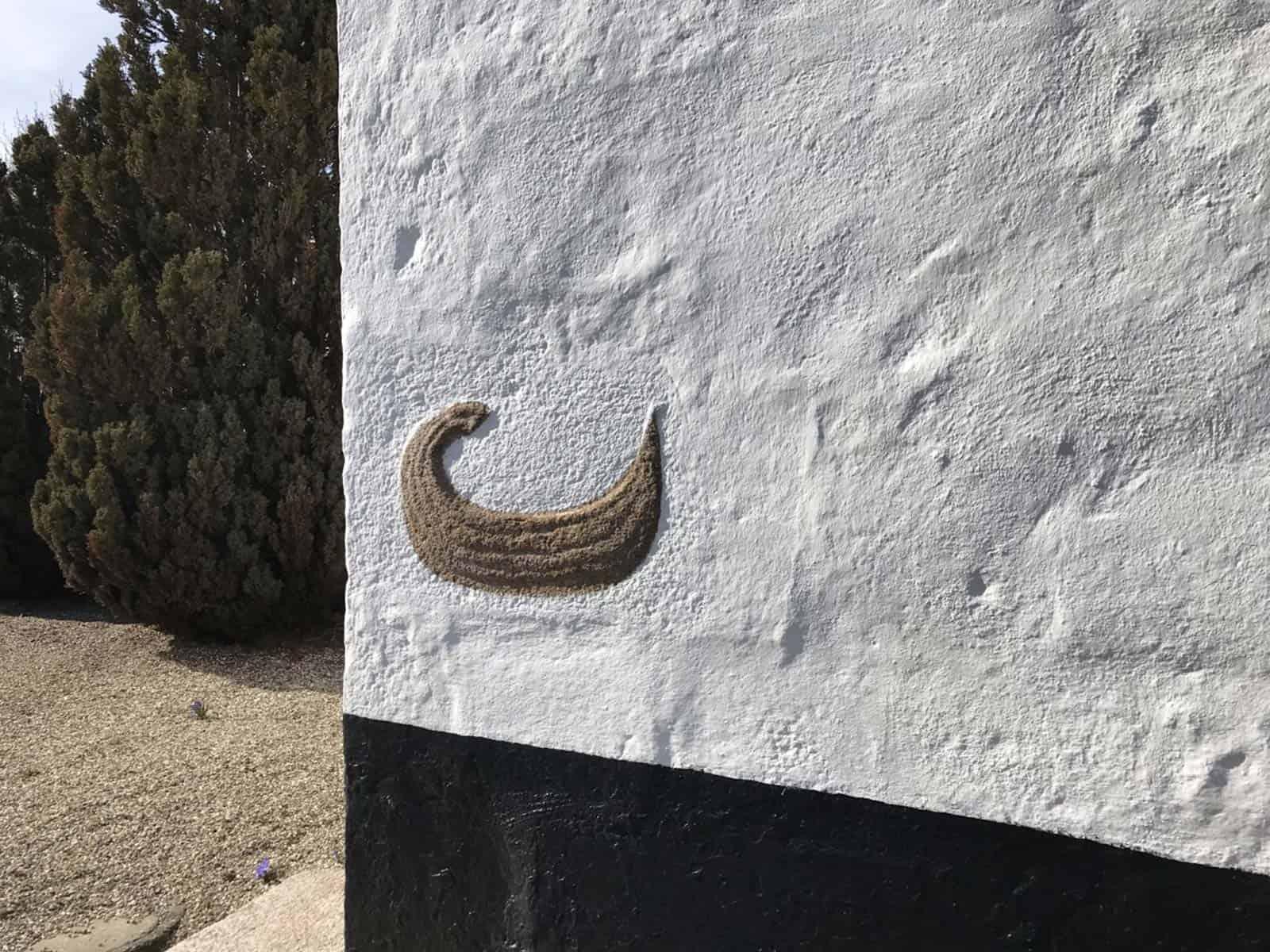 Bøstrup Kirke vægudsmygning