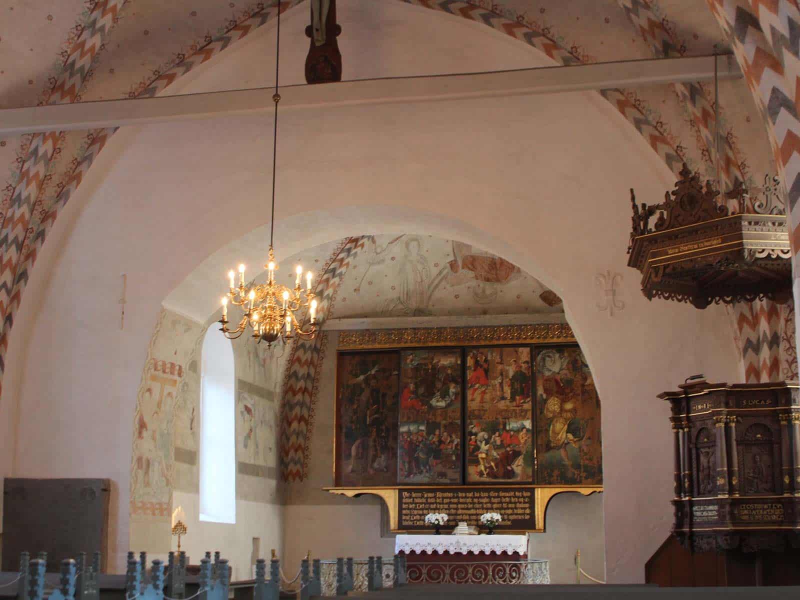 Bregninge Kirke indvendig