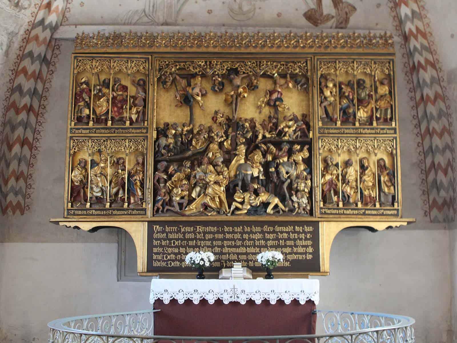 Bregninge Kirke altertavle