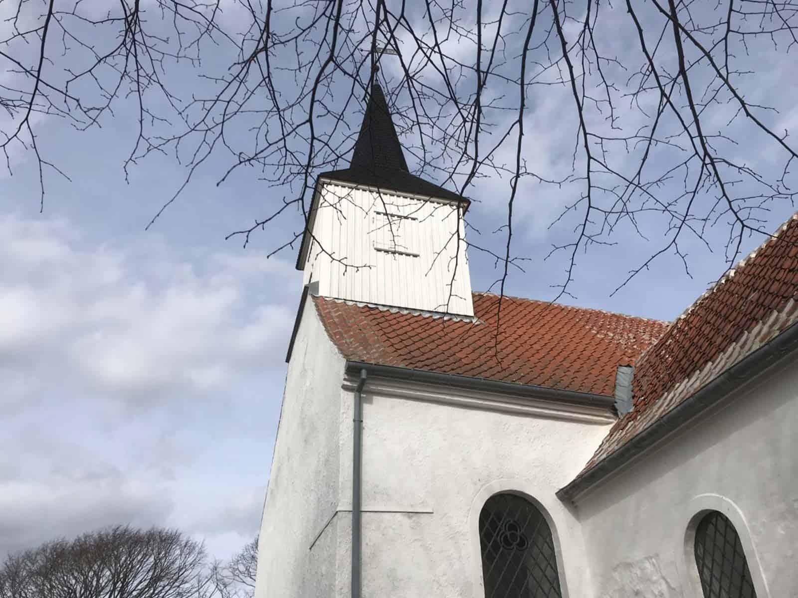 Fuglsbølle Kirke kirketårn