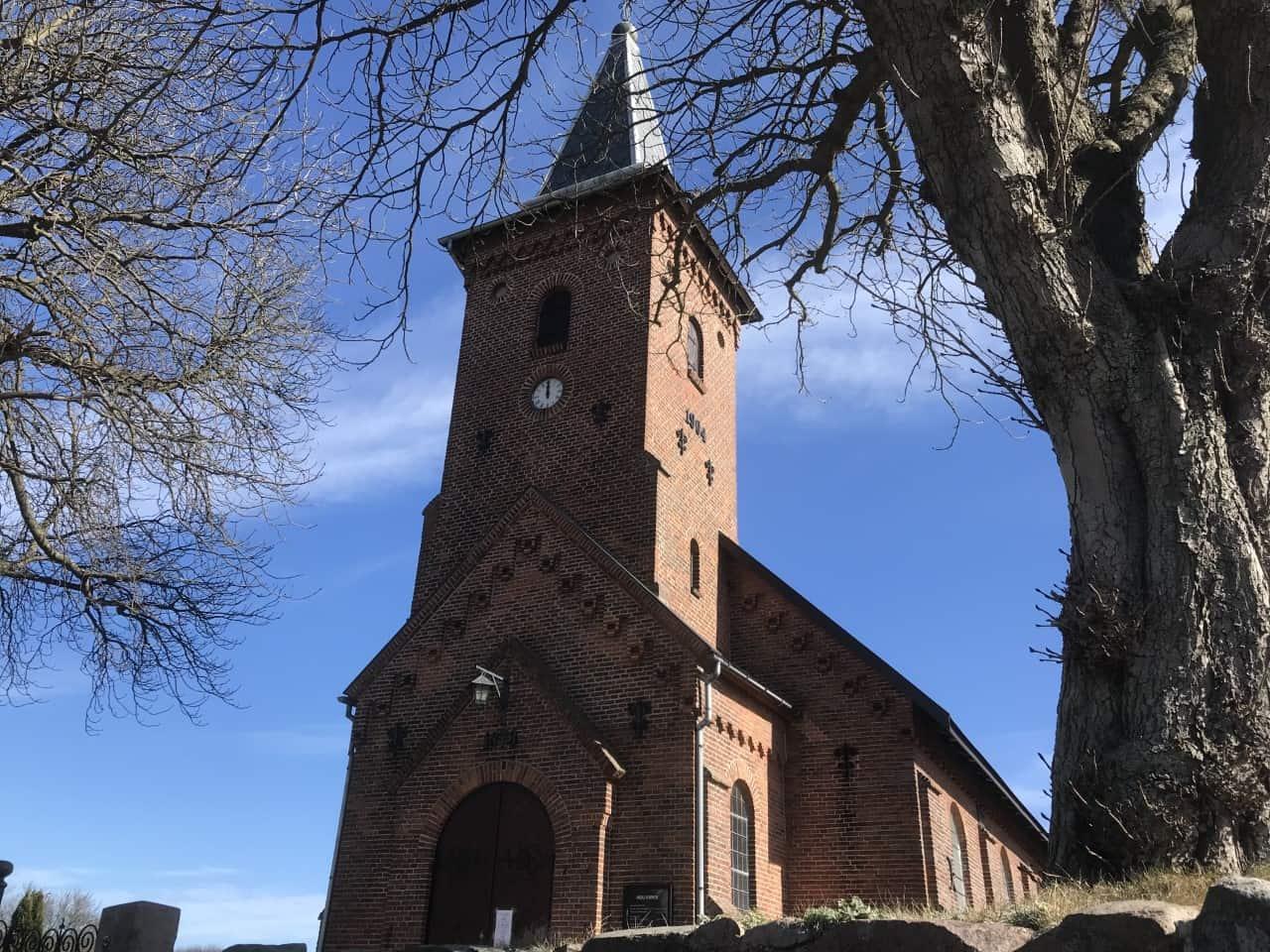 Hou Kirke kirketårn
