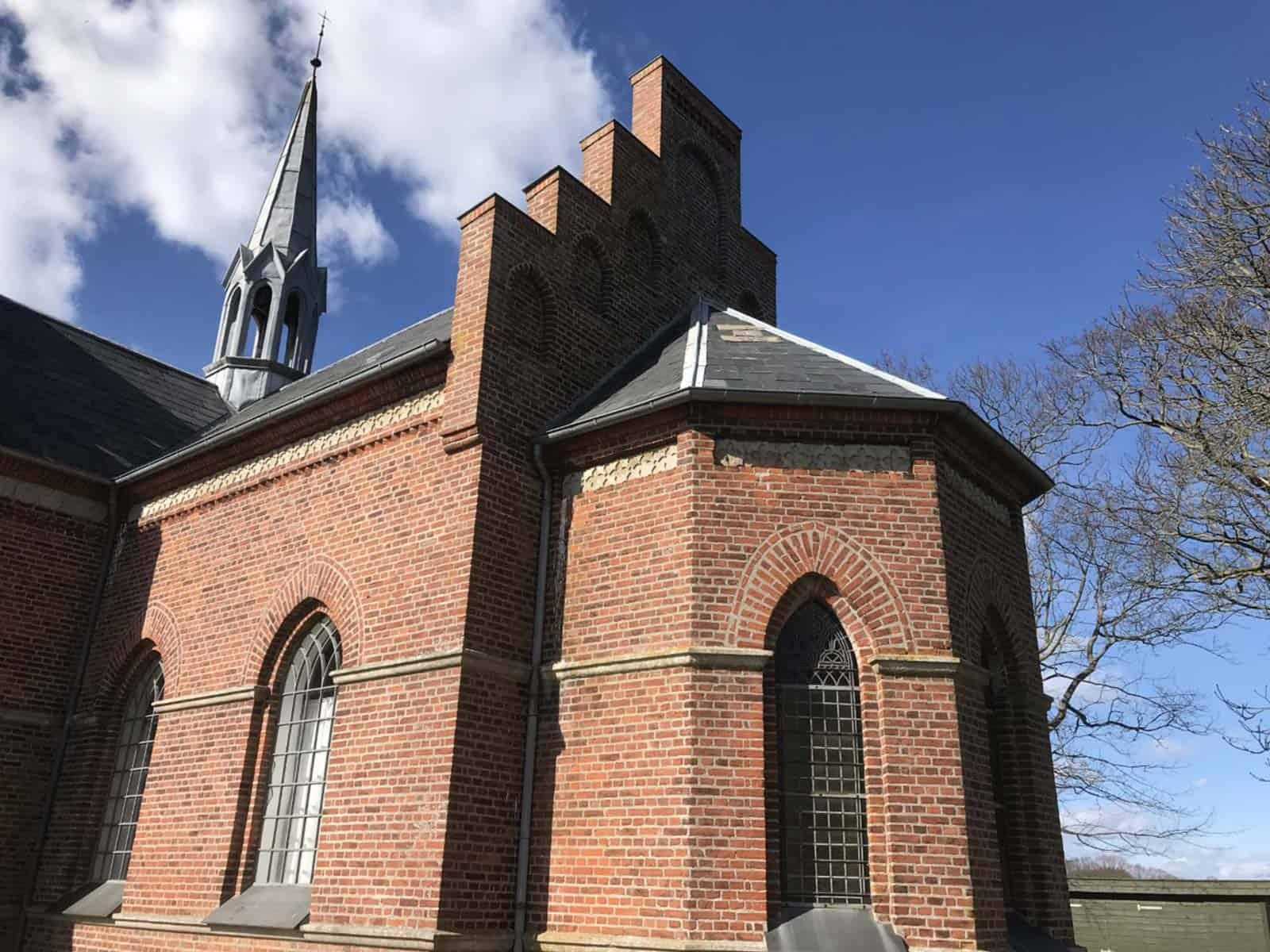 Kædeby Kirke spir
