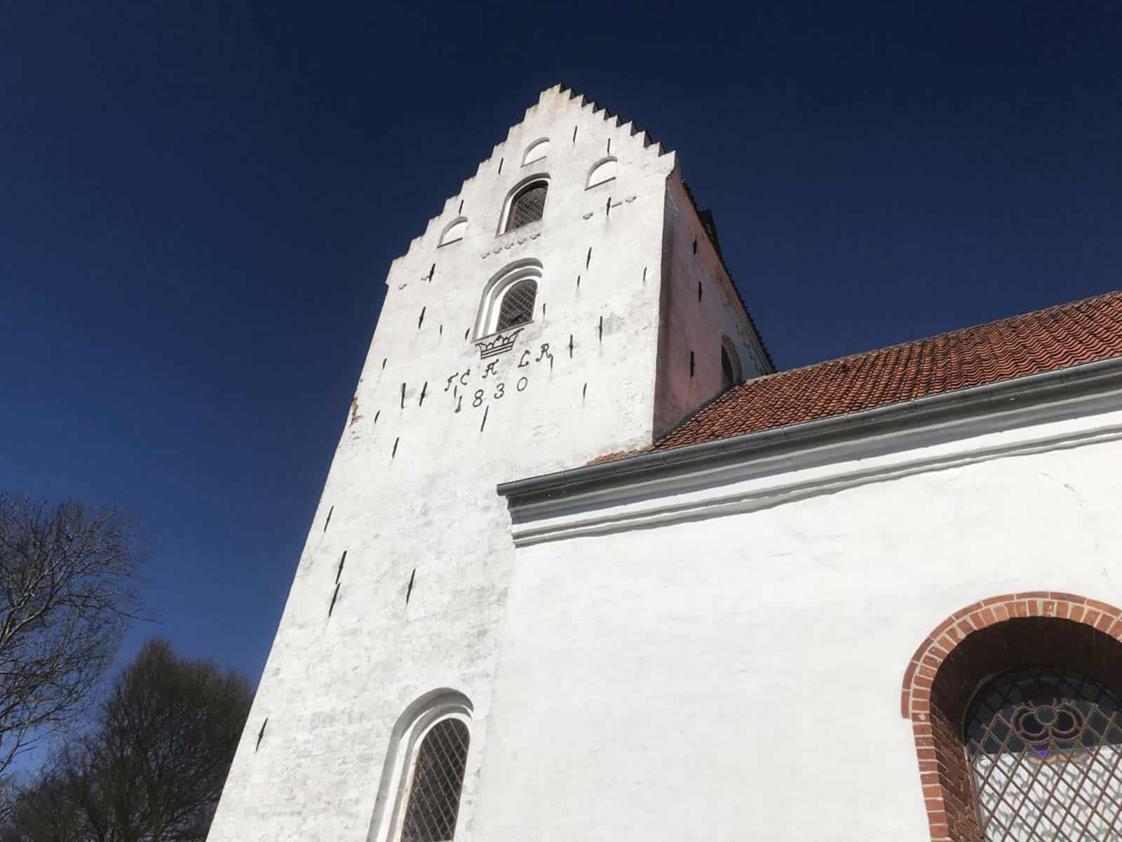 Lindelse Kirke kirketårn
