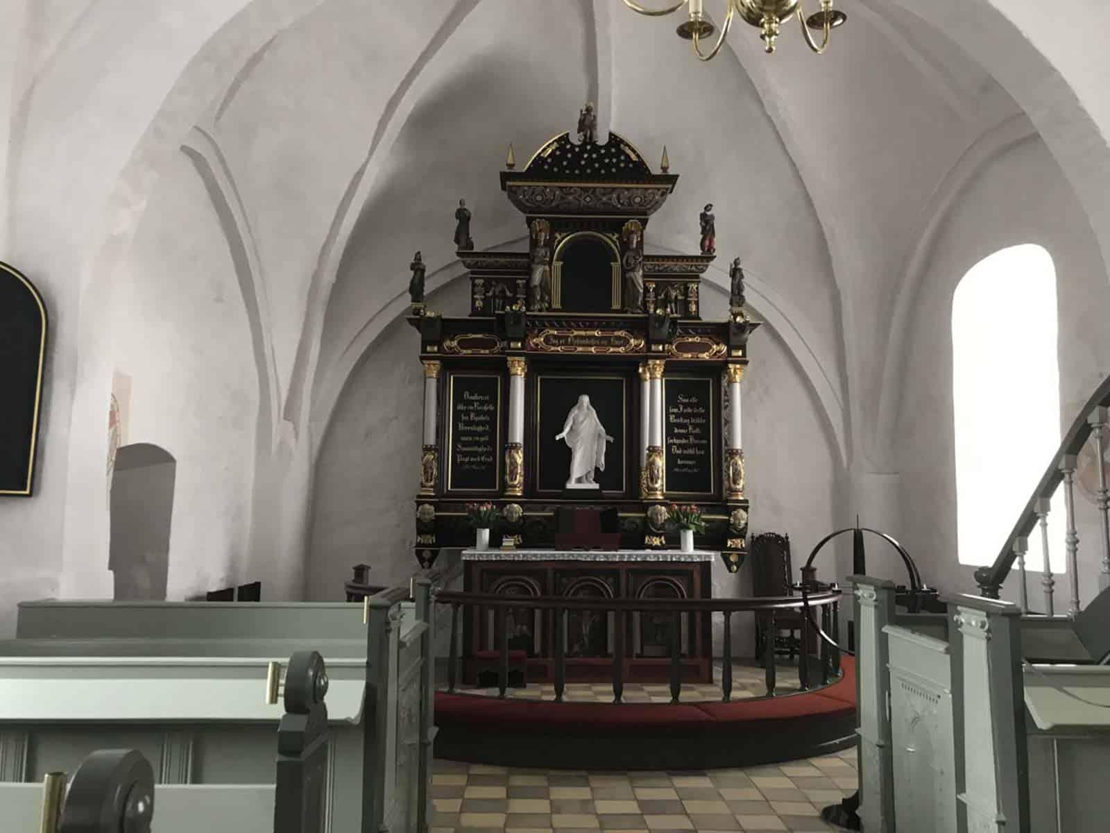 Longelse Kirke altertavle