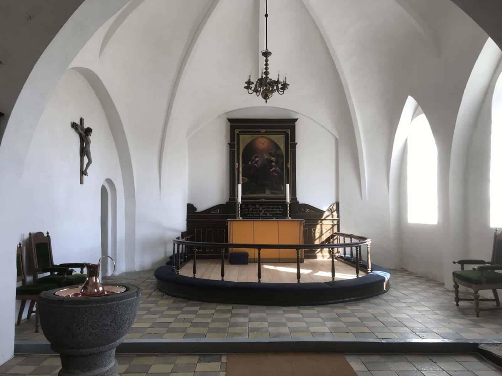 Magleby Kirke altertavle