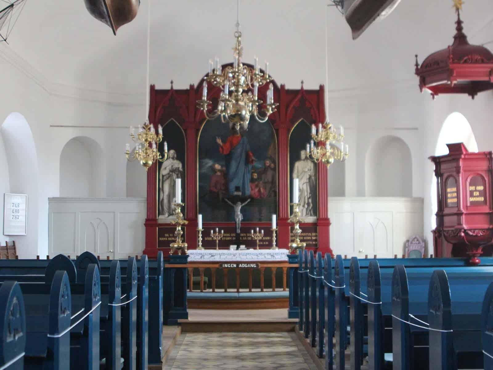 Marstal Kirke altertavle