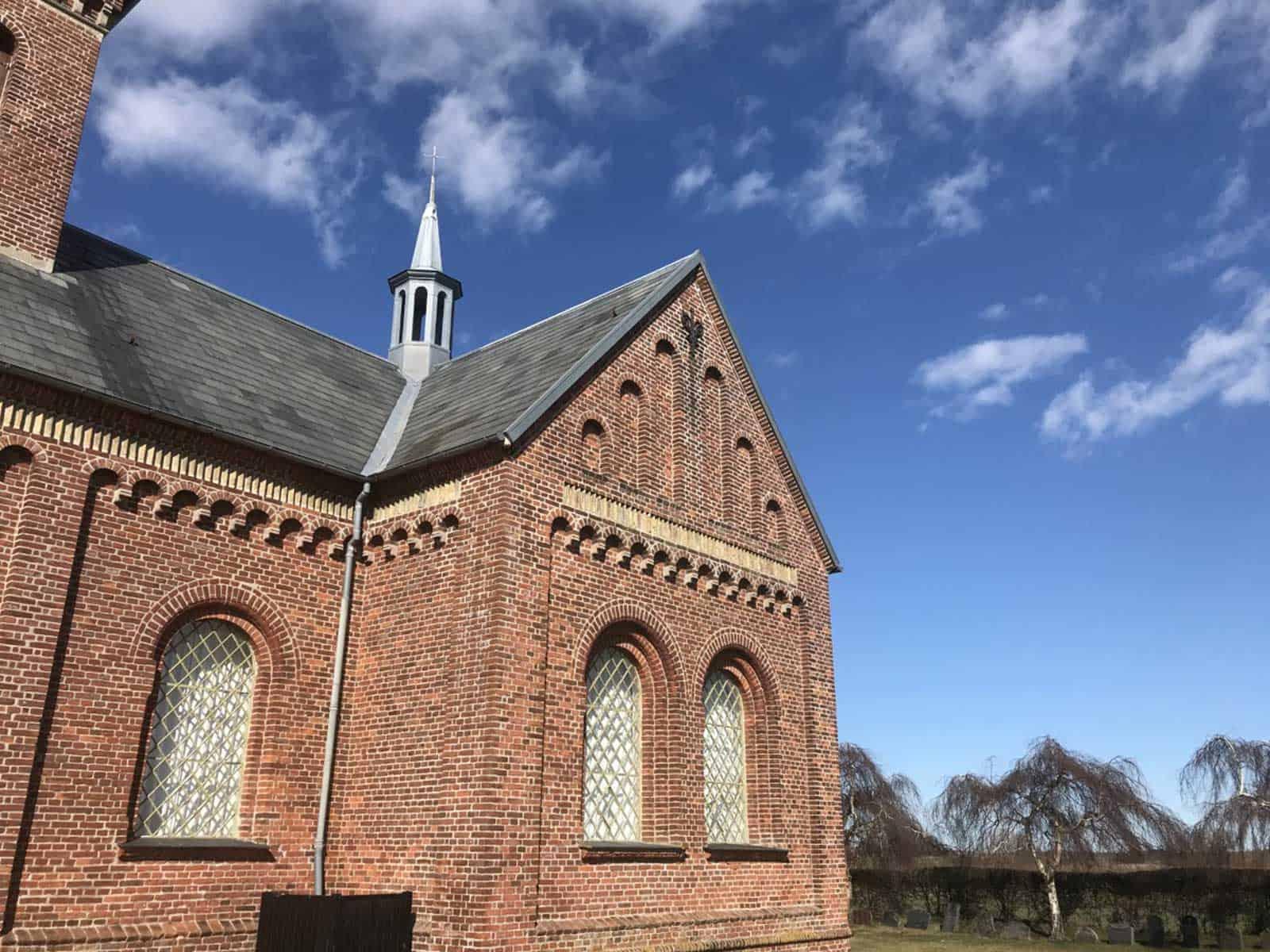 Ristinge Kirke spir