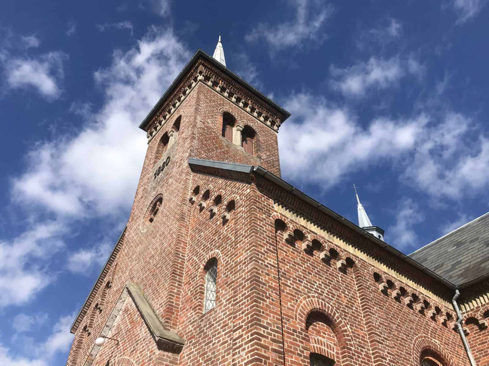 Ristinge Kirke kirketårn
