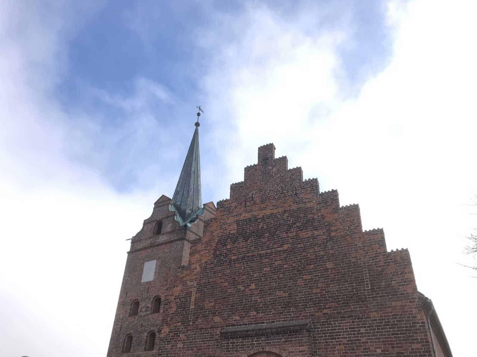 Rudkøbing Kirke spir