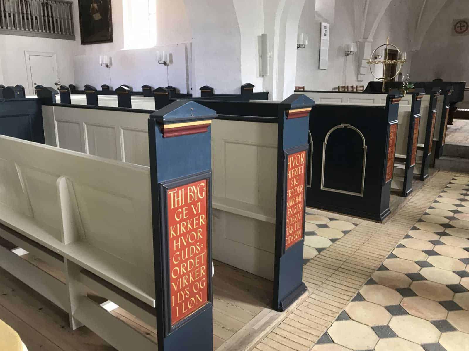 Rudkøbing Kirke altergang