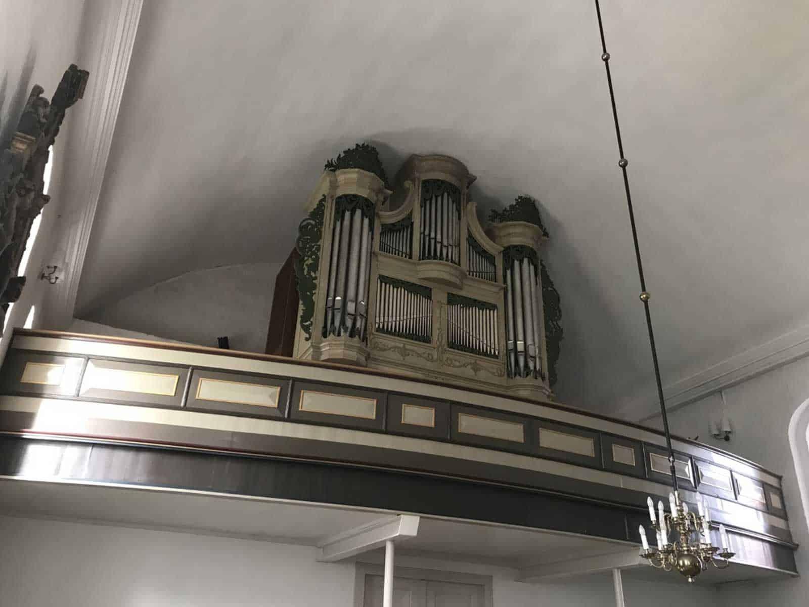 Rudkøbing Kirke orgel