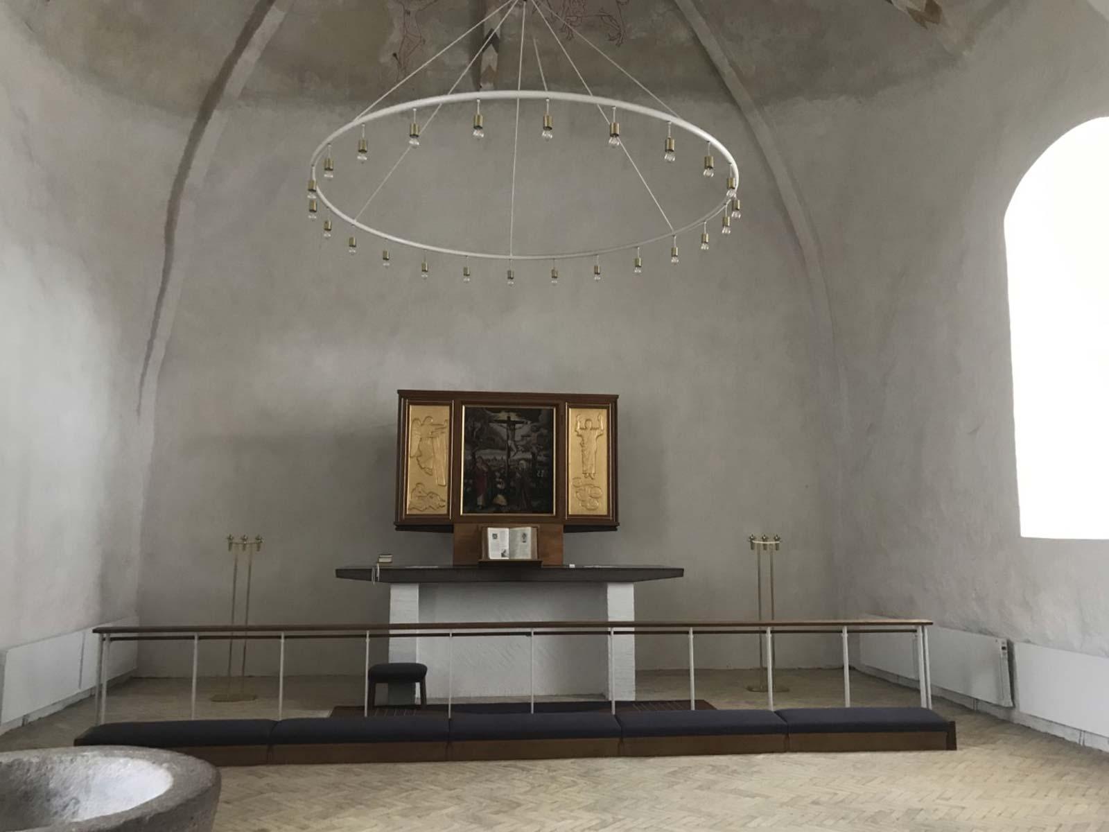 Skrøbelev Kirke altertavle
