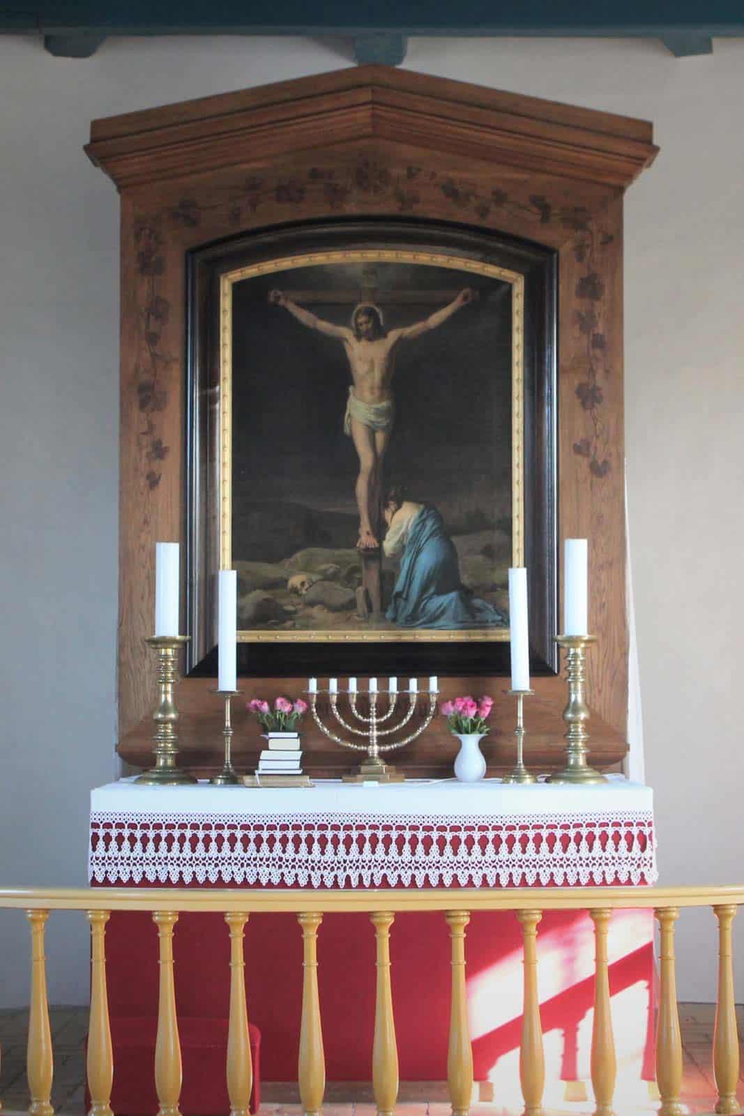 Søby Kirke altertavle