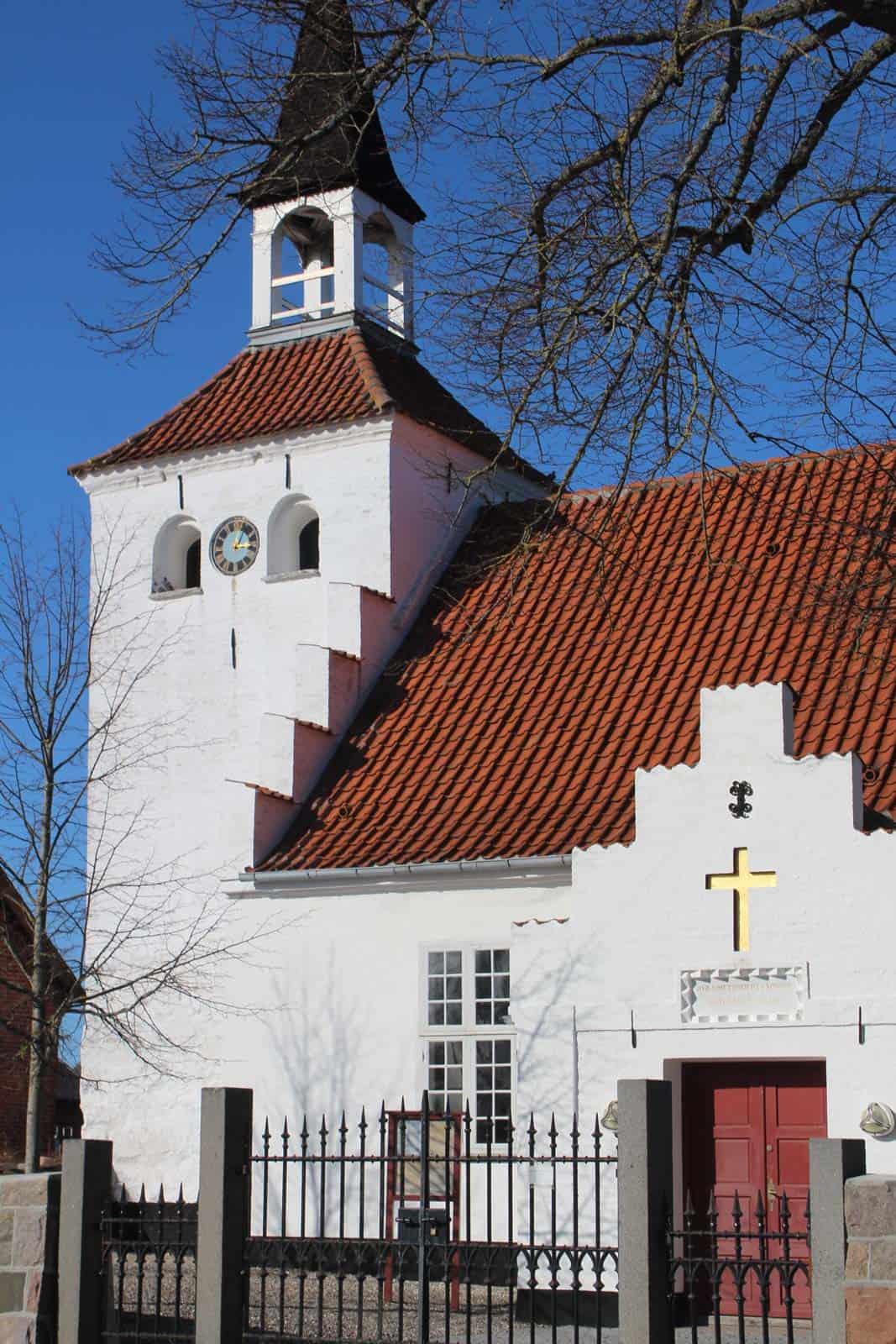 Søby Kirke kirketårn