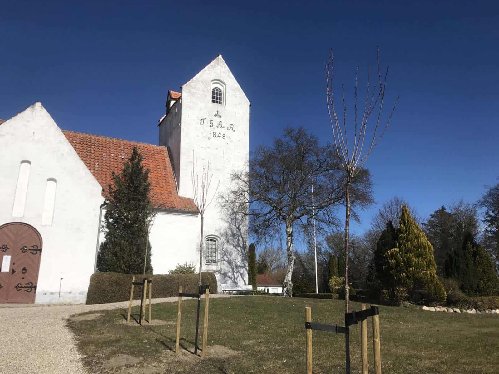 Stoense Kirke kirketårn