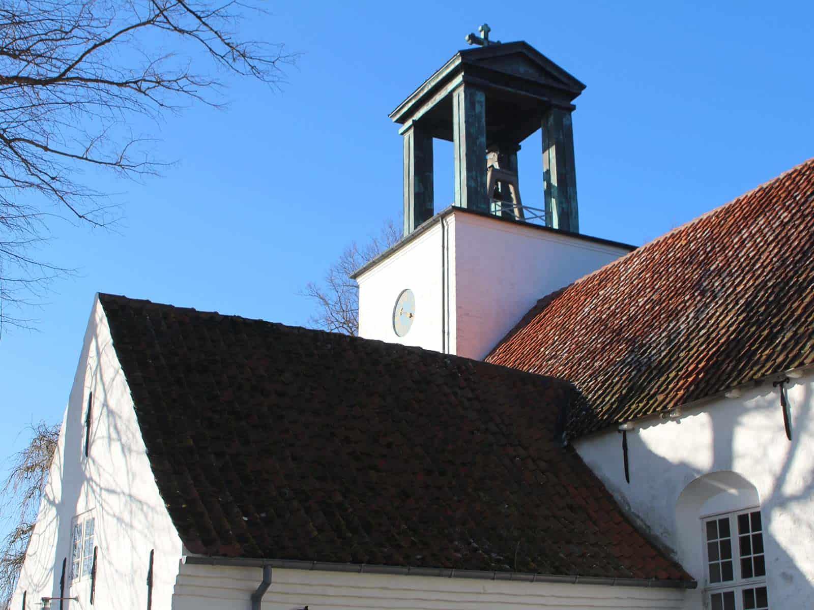 Tranderup Kirke kirketårn