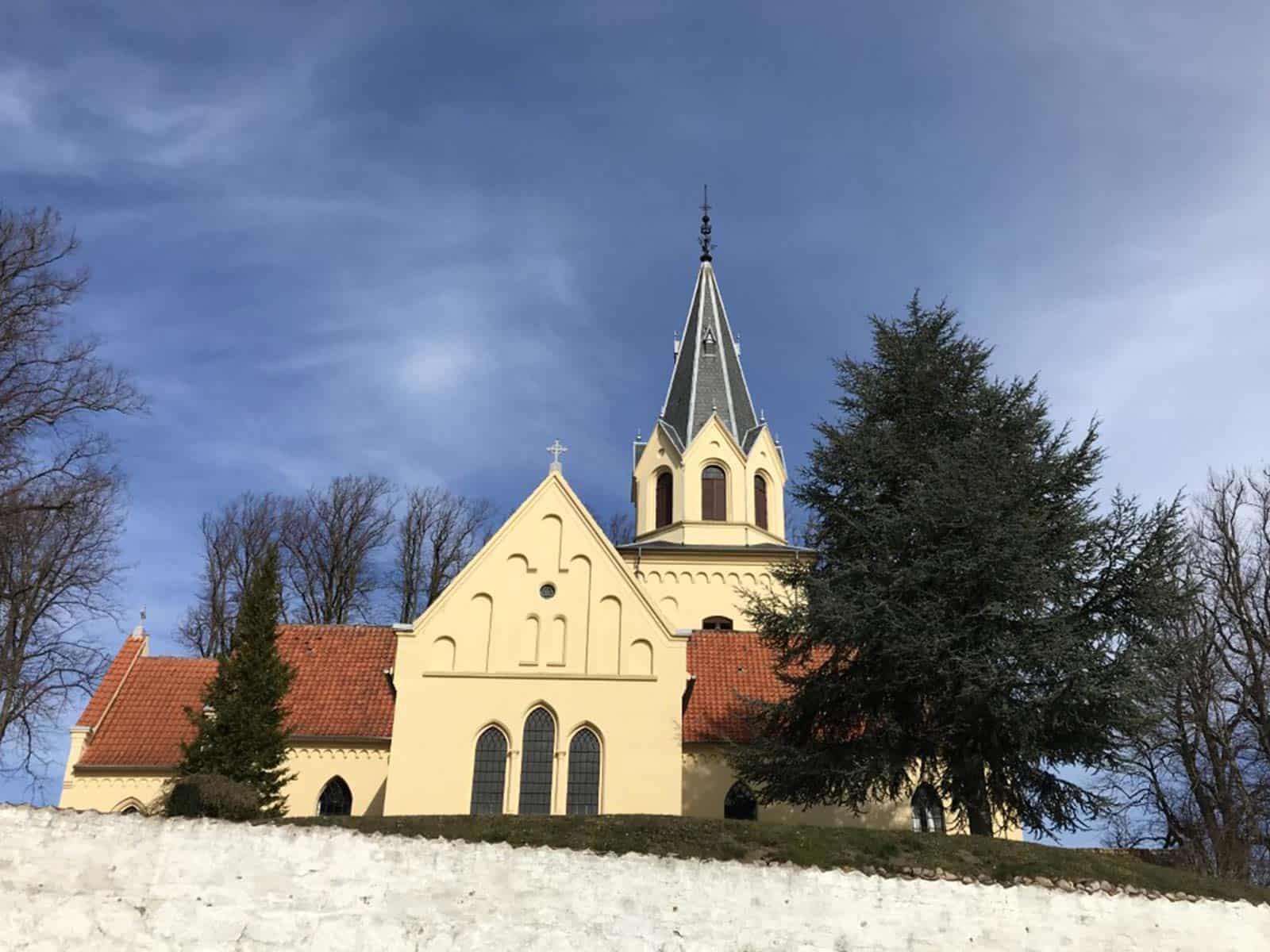 Tranekær Kirke spir