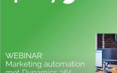 Marketing Automation met Dynamics 365 for Marketing