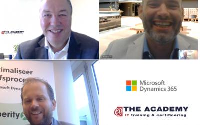 Xperity en @The Academy slaan handen ineen voor Dynamics 365 trainingen