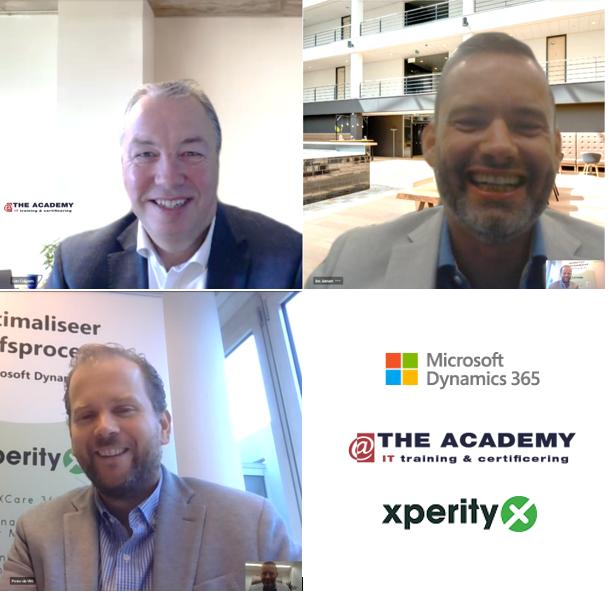 Tekenmoment tussen @The Academy en Xperity voor Dynamics trainingen