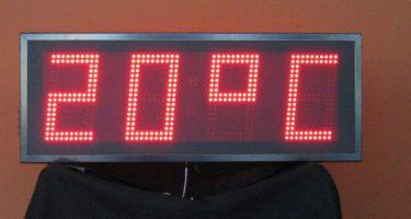 Tijd Temp Led Display