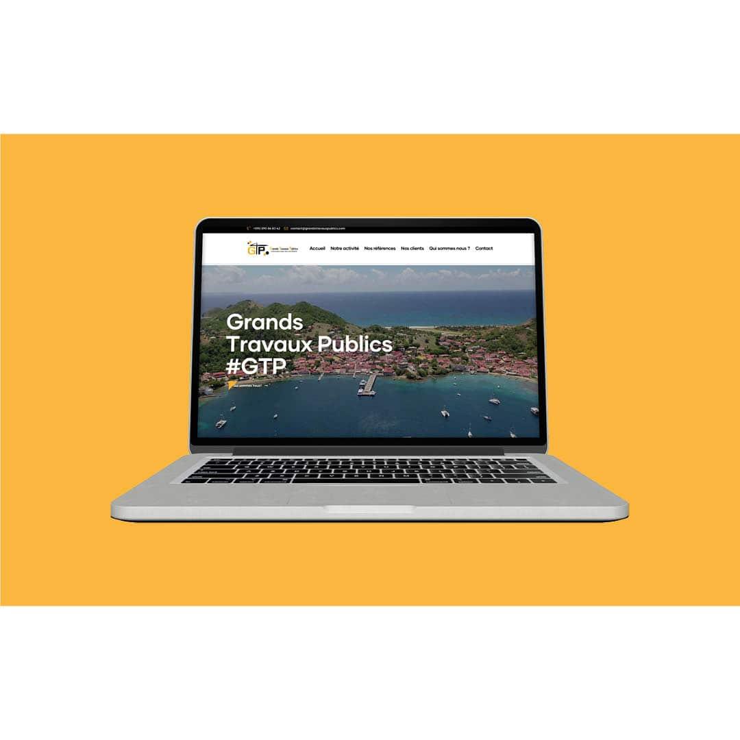 Site web Grands Travaux Publics