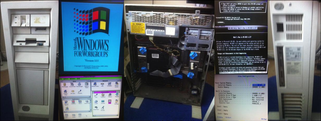IBM PS/2 Model 80 Project