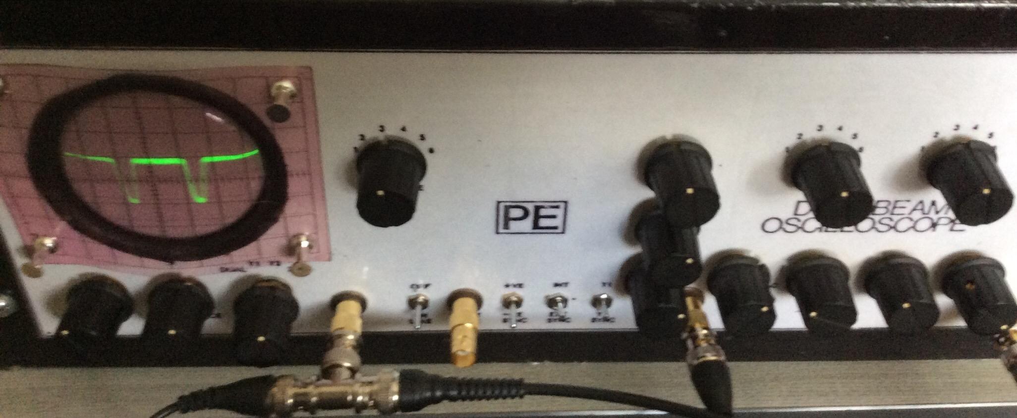 Dual Beam Oscilloscope project