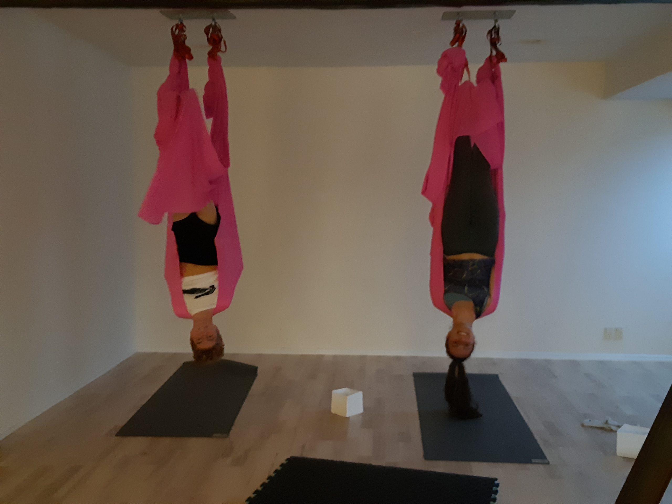 Aerial Yoga - lørdags-drop-in, kl. 10:45-12:00