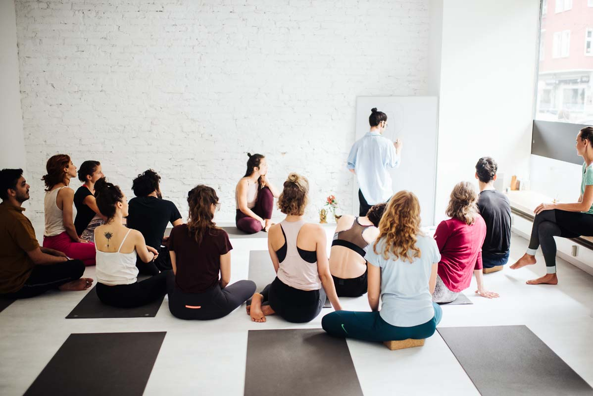 Learning Yoga With A Class
