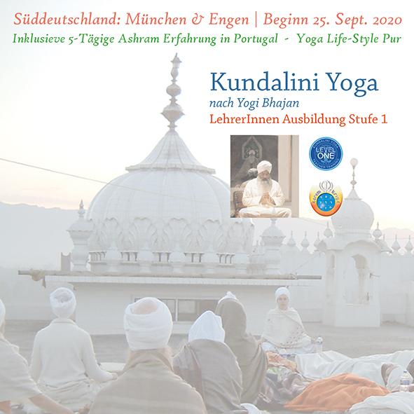 KYoga Level 1 Engen/Munich 2020 @ Kundalini Yoga Zentrum München
