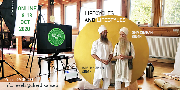 KYoga Level 2 Lifecycles and Lifestyles ONLINE 2020 Shiv Charan Singh and Hari Krishan Singh
