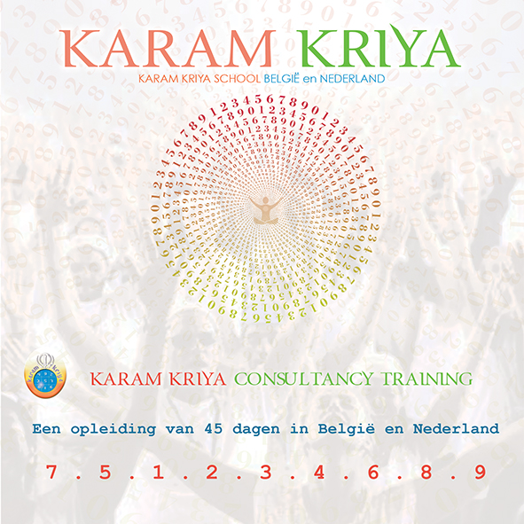 Karam Kriya Consultancy Training ONLINE, The Netherlands and Belgium 2021-2023