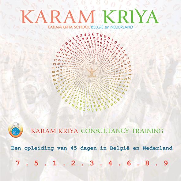Karam Kriya Consultancy Training ONLINE, The Netherlands and Belgium 2021-2023