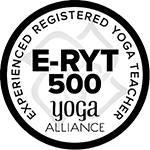 Yoga Alliance Experienced Registered Yoga Teacher E-RYT-500