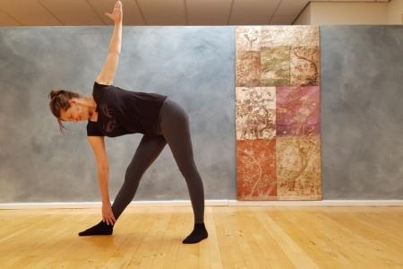 Intermediate yogales via Zoom