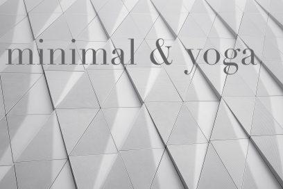 minimal & yoga