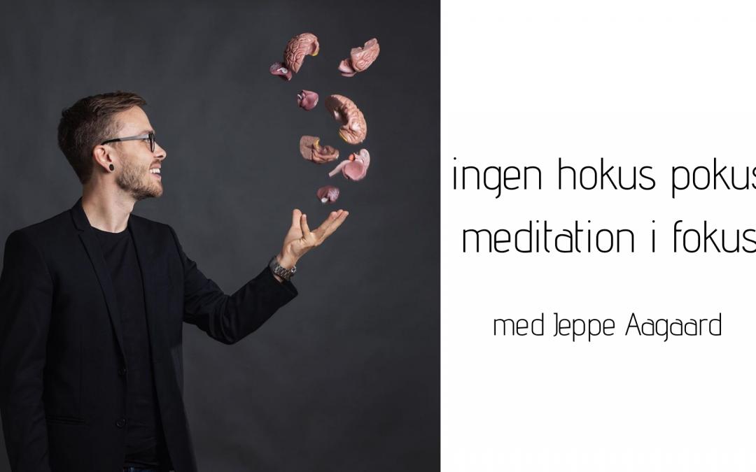 Foredrag med Jeppe Aagard